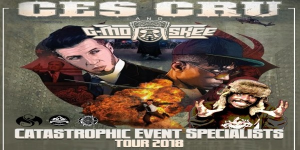 CES CRU + G-MO SKEE: Catastrophic Event Specialists Tour 2018