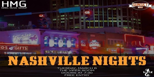 NASHVILLE NIGHTS - March Edition!